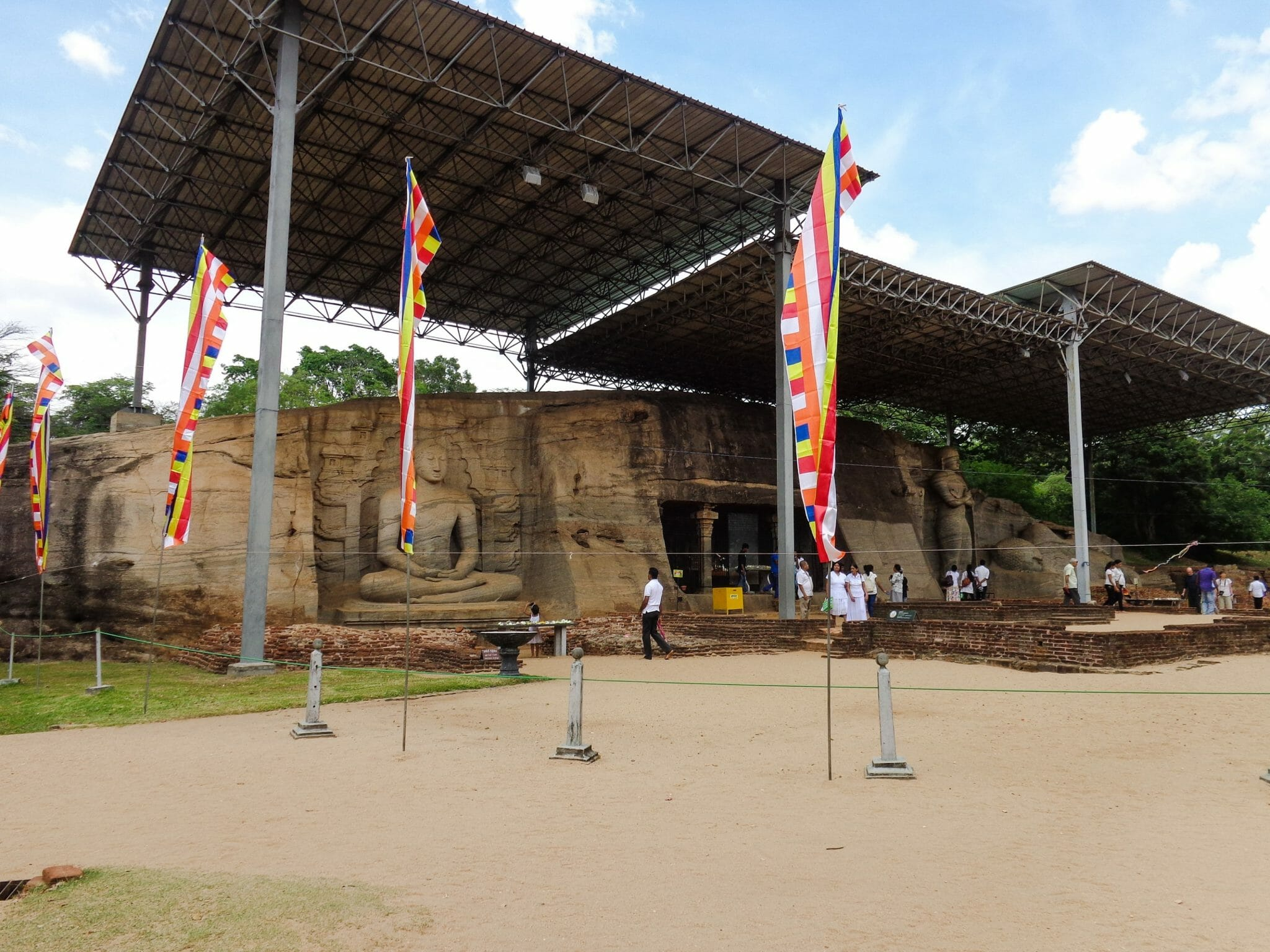 Gal Viharaya - Ancient City of Polonnaruwa