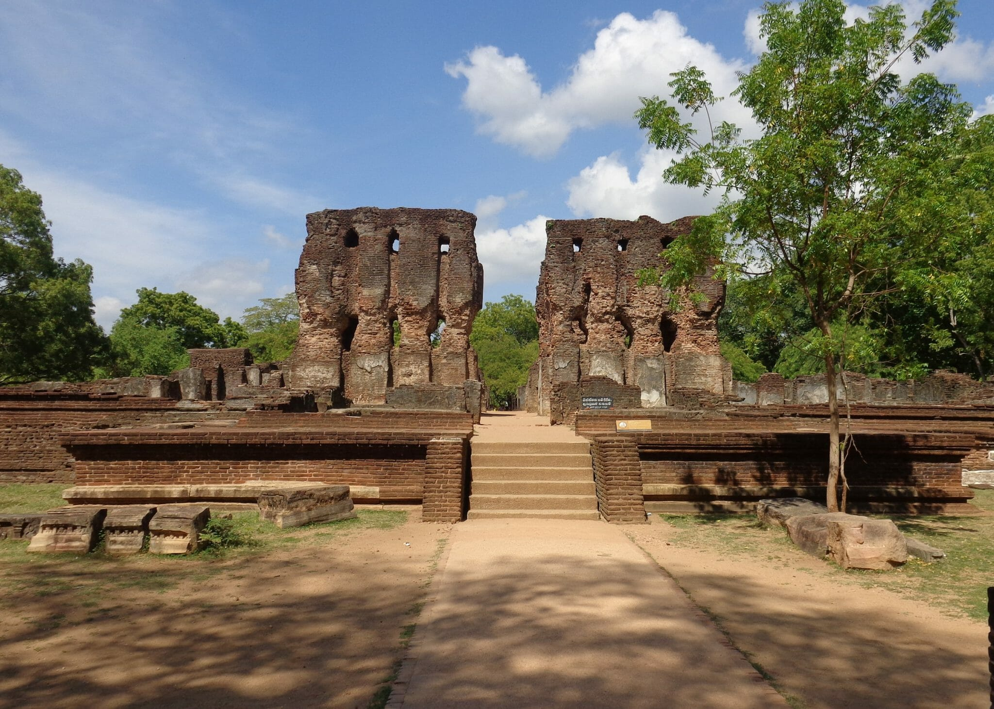 Palace of King Parakramabahu - Polonnaruwa