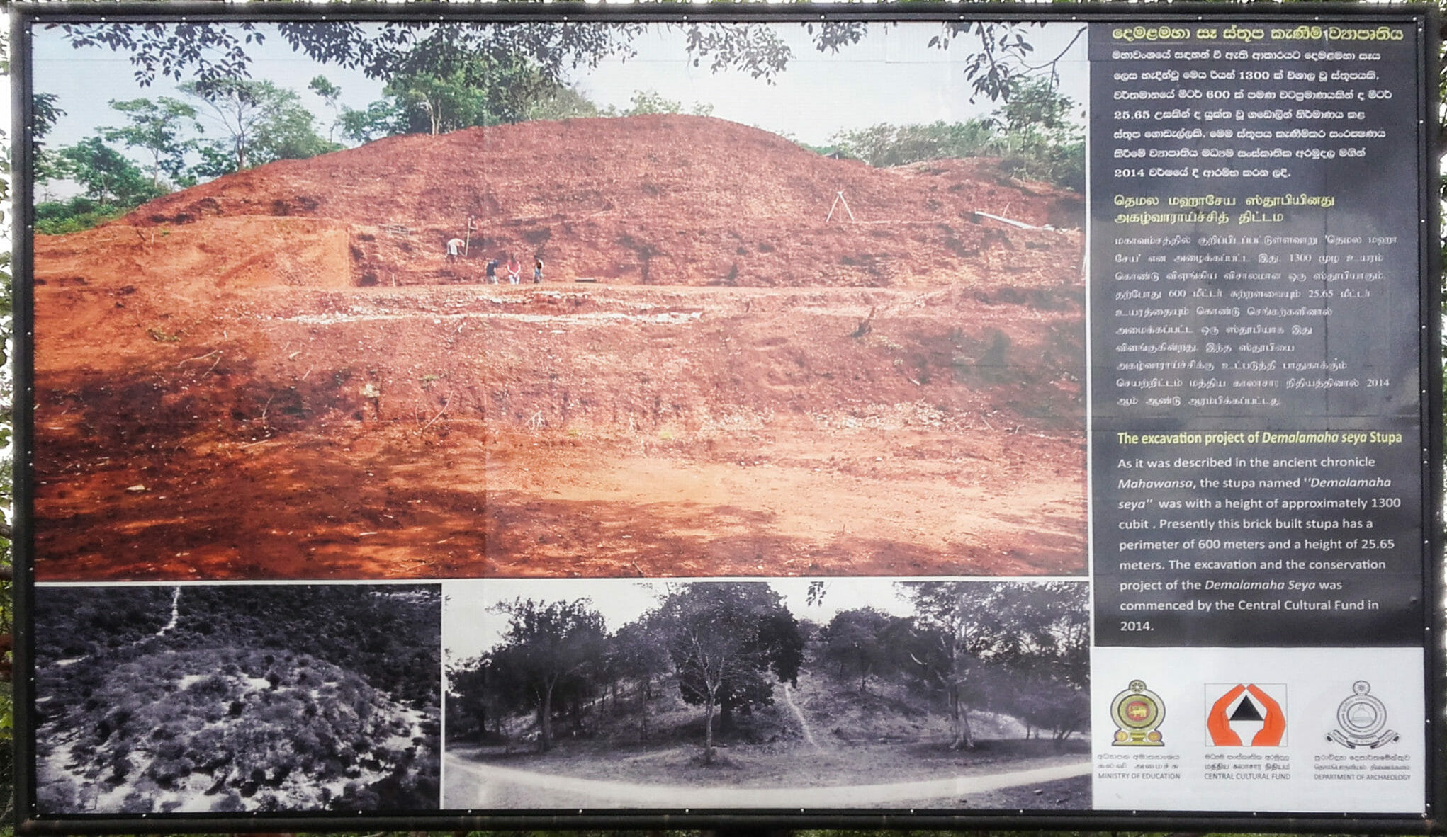 Demalamaha Seya - Ancient city of Polonnaruwa